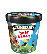Half Baked Original Ice Cream Pinty