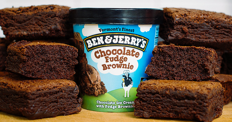 Chocolate Fudge Brownie Ben & Jerry's – piekarnia Greyston