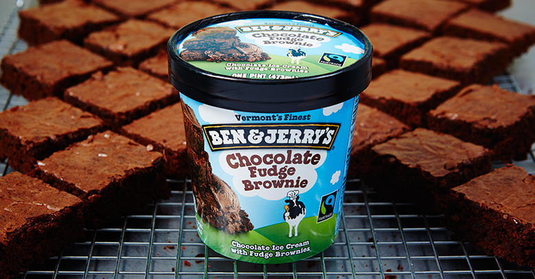 Lody Chocolate Fudge Brownie Ben & Jerry's